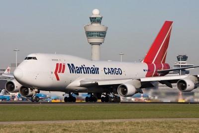 B747-400 aterrizará el 6 de agosto 2013 a las 14:55 hora local y viene del aeropuerto de Frankfurt am Main, Alemania