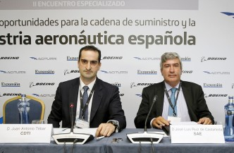 Fotos Jornadas Retos y oportunidades para la cadena de suministros y la industria aeronáutica española. Foto: P. Davila.