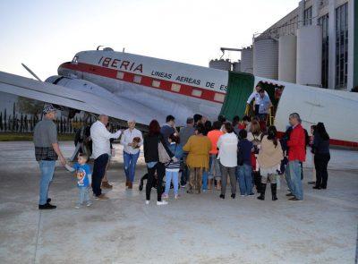 Visita al DC-3
