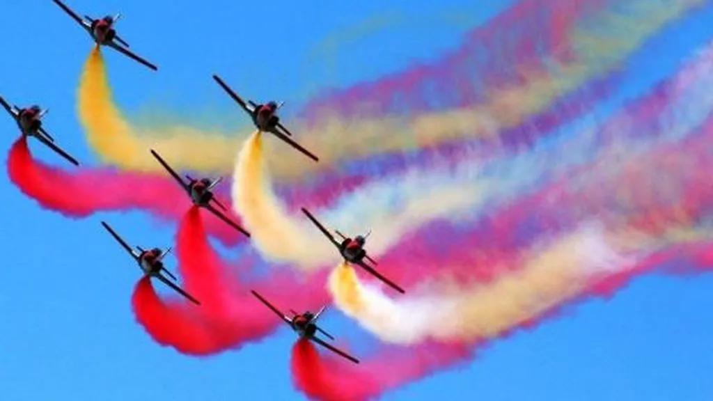 ¿Qué es un festival aéreo?